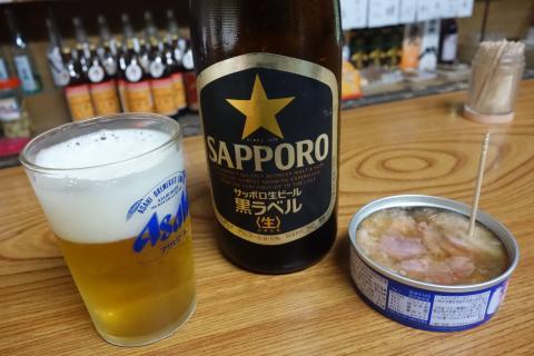 ビールと缶詰