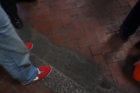 ウッチャンの足