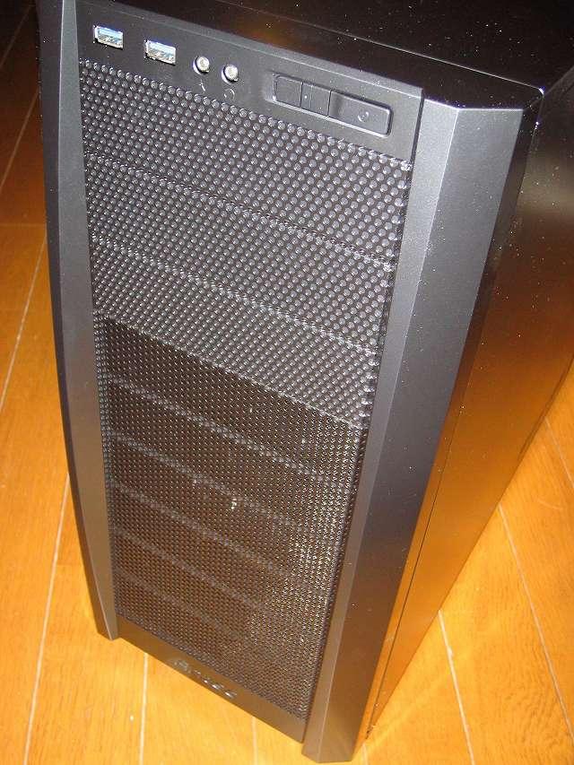PC ケース Antec Three Hundred Two AB PC ケース正面 フロントパネル、フロントメッシュ
