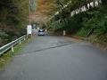 151129善峯寺駐車場への激区間