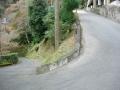 151129善峯寺から杉谷方面への序盤激坂ヘアピン