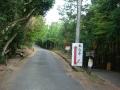151129本山寺方面へ上る