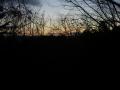 160109谷山林道ピーク、もうすぐ夜明け
