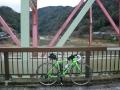 160130笠置で木津川を渡る