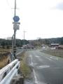 160130笠置から須川ダム方面へ上って行く