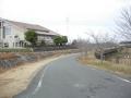 160130木津川市の中央体育館横を抜け木津川CRへ