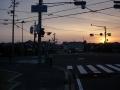 160206竜田大橋を東へ