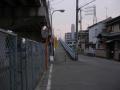 160206国道25号関西本線高架は軽車両通禁
