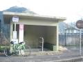 160206天理ダムバス停