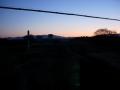 160211大住から夜明け前の自転車道へ