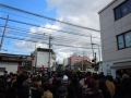 160101伏見稲荷駅前の混雑