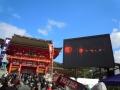 160101伏見稲荷門前の大型ディスプレイ