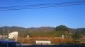 151204和束ローソンから鷲峰山、犬打峠方面の山々
