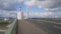160207大宮大橋で鴨川を渡り大宮通を北上