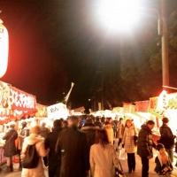7吉田神社の節分祭り参道