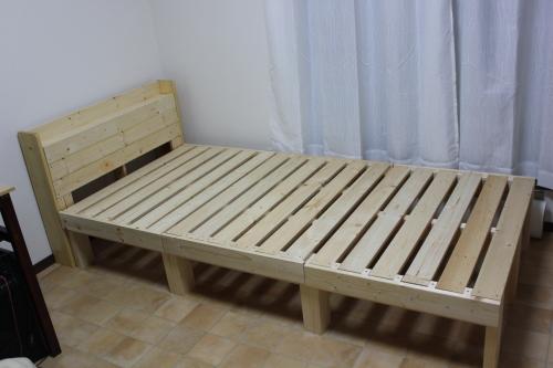 自作ベッド