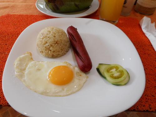 フィリピンの朝食