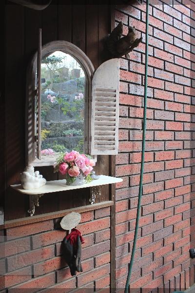 冬のバラ 冬至 プチトリアノン アンブリッジローズ ストロベリーアイス 20151222
