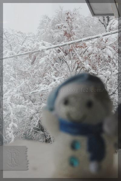 雪の日 ソリ かまくら 20160118