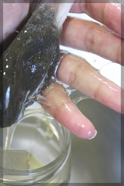 手作り石鹸 がごめ昆布 作り方 20160122