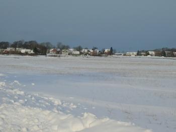 雪のスウェーデン