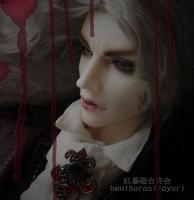 シメオン(シーマ):LOONGSOUL auguste(吸血鬼)ヘッド+LOONGSOUL80男ボディ(美白)