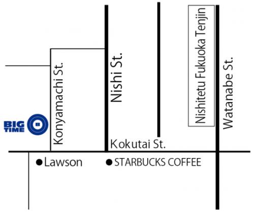 BT 新店MAP
