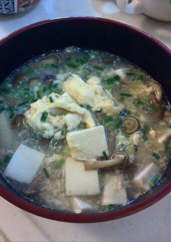 なめ玉豆腐の中国風