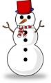 冬(雪だるま