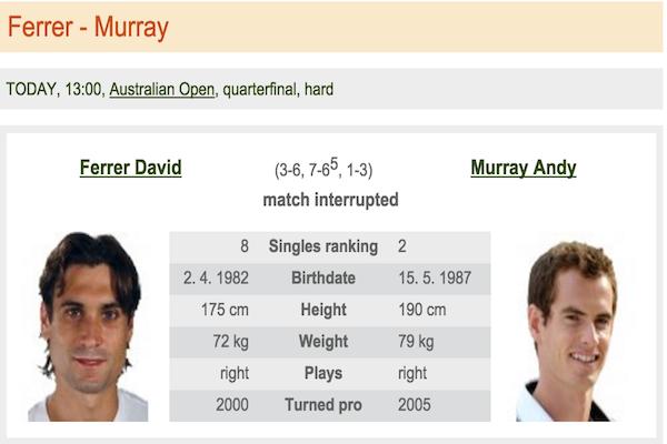 Ferrer - Murray
