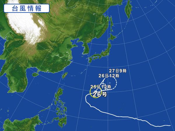 台風11月25日