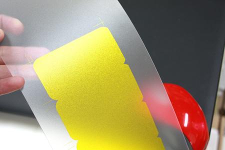 スクリーン印刷メタリックインク