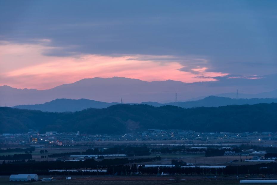 2015.12.14河北潟からの朝焼け3.0637