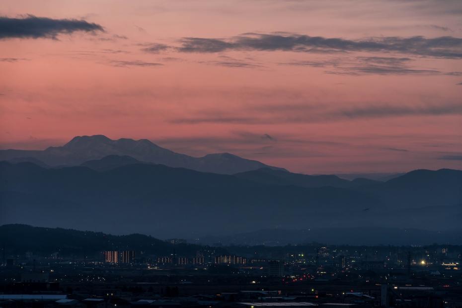 2015.12.14河北潟からの朝焼け2.0632