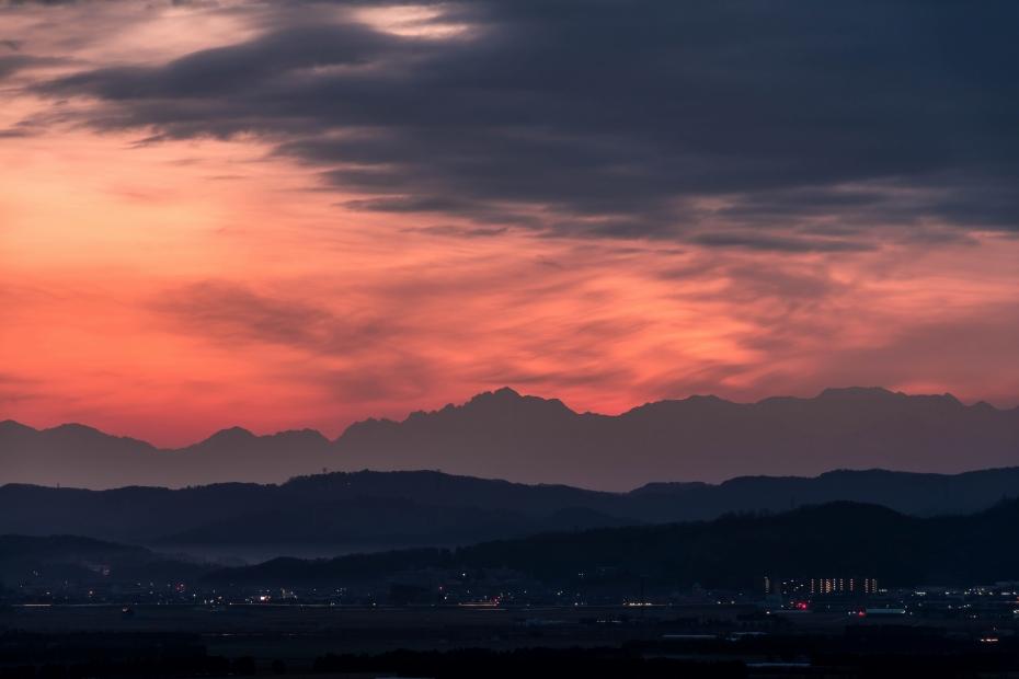 2015.12.14河北潟からの朝焼け1.0629