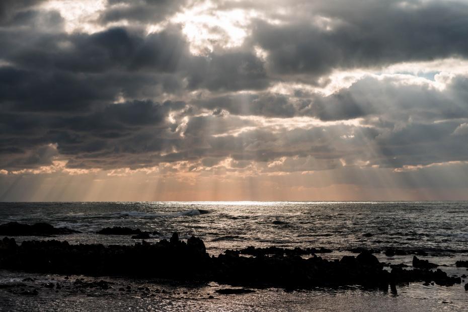 2015.12.19安部屋海岸の夕景4