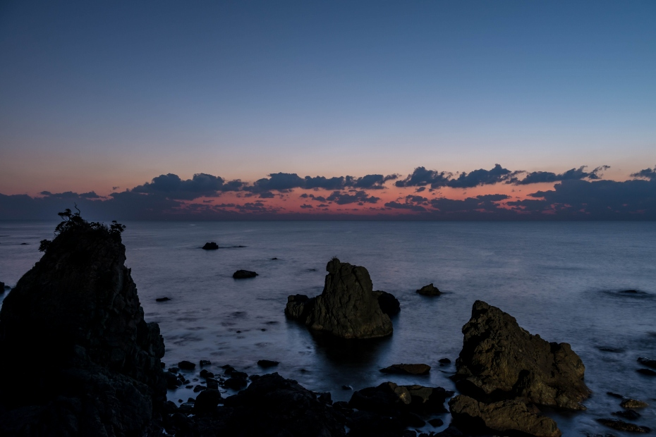 2015.12.22機具岩の夕焼け14