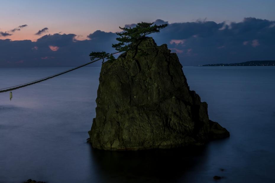 2015.12.22機具岩の夕焼け13