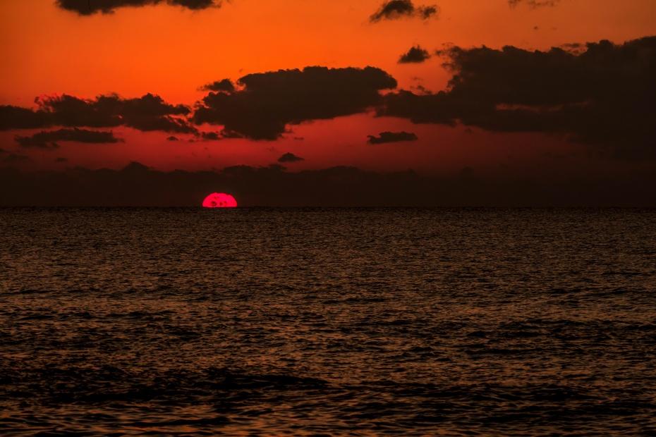 2015.12.22機具岩の夕焼け10.1636