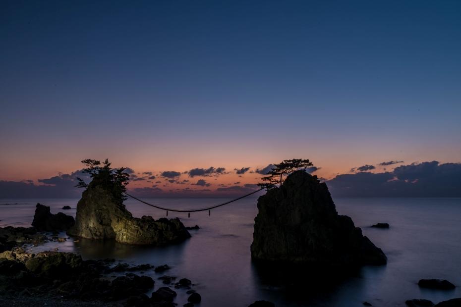 2015.12.22機具岩の夕焼け11.1705