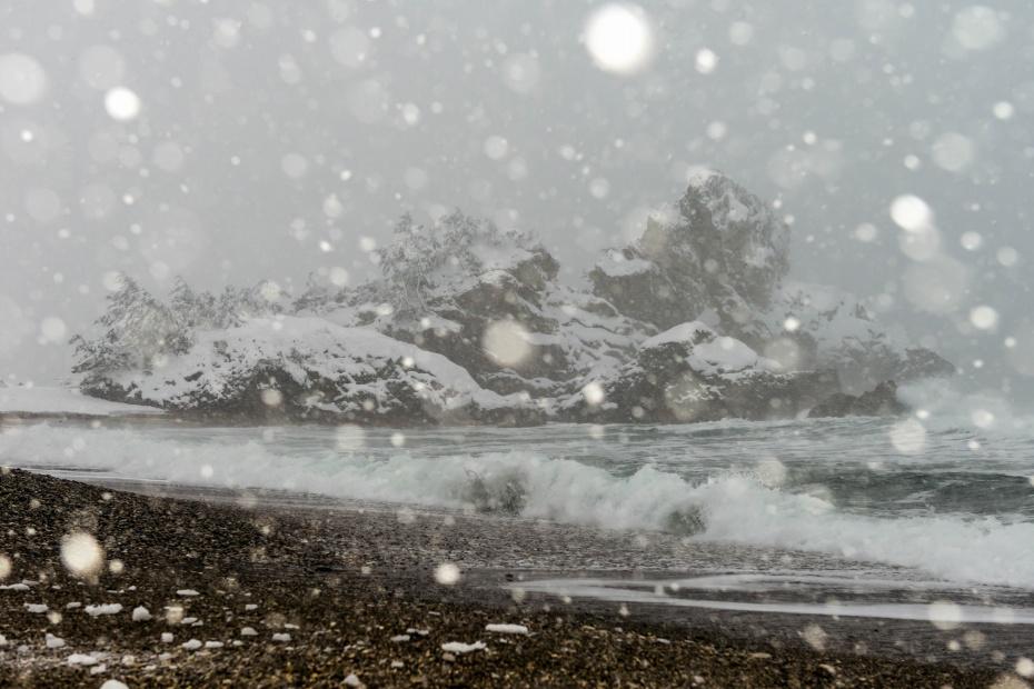 2016.01.24窓岩の雪景色2