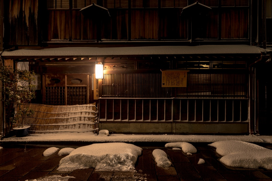 2016.01.25ひがし茶屋街の雪景色4