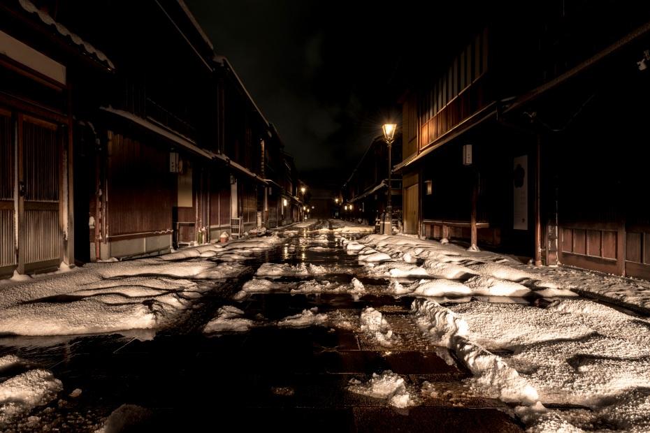 2016.01.25ひがし茶屋街の雪景色2