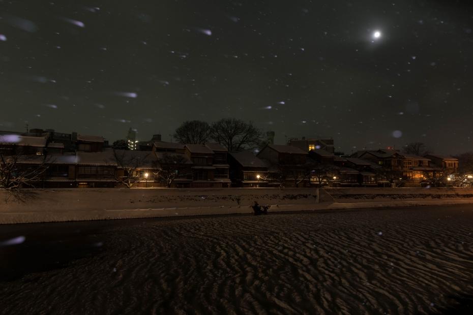 2016.01.25主計町の雪景色1
