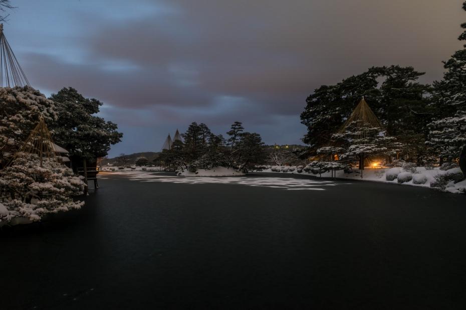 2016.01.25雪の兼六園2