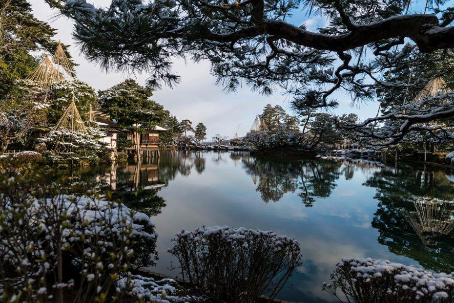 2016.02.07兼六園の雪景色3