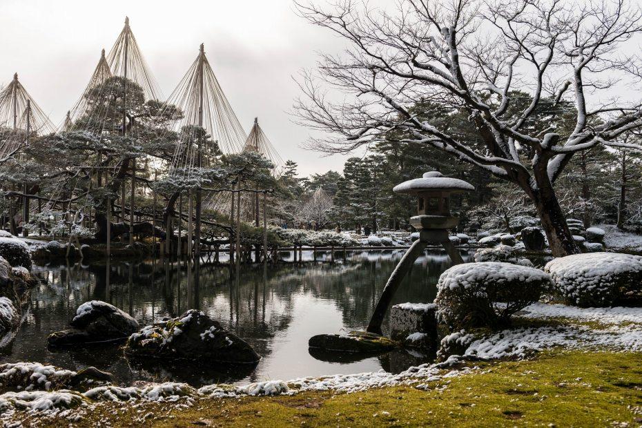 2016.02.07兼六園の雪景色2