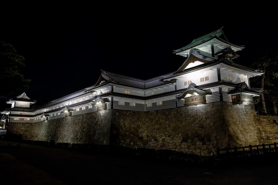 2016.02.11金沢城公園ライトアップ5