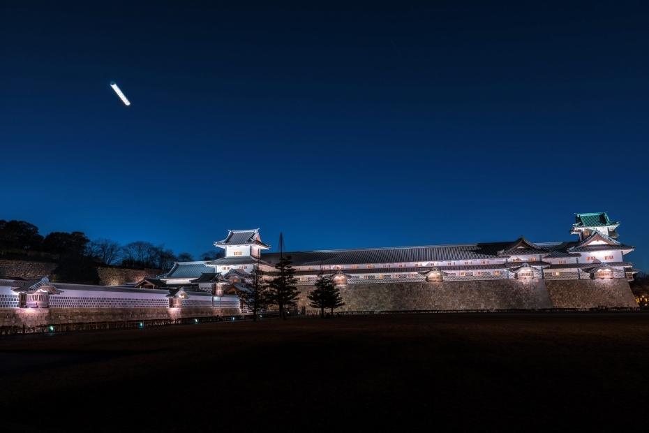 2016.02.11金沢城公園ライトアップ3