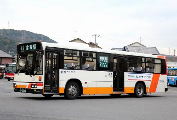 岡山22か4099 N852